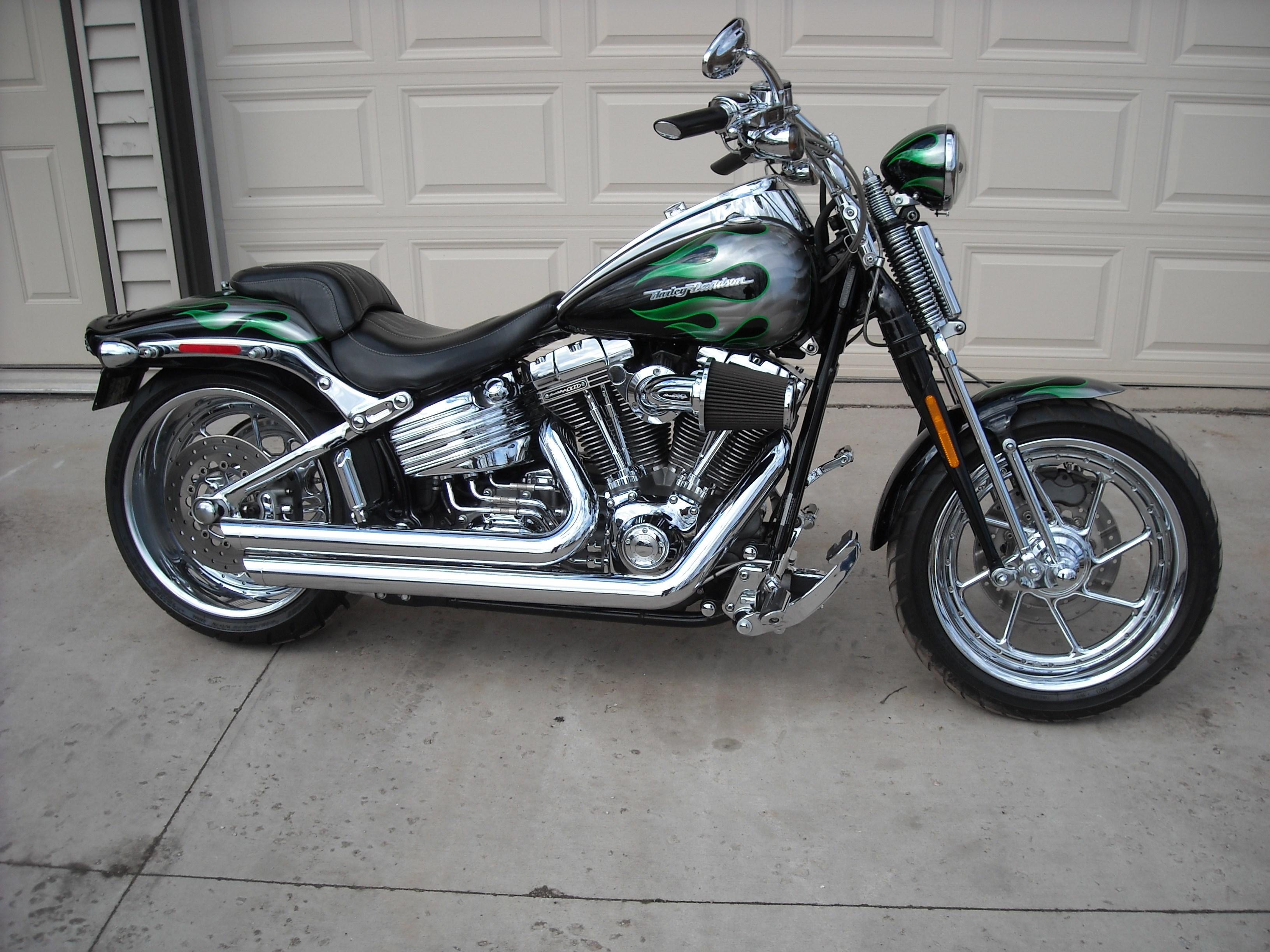 2009 Harley Davidson 174 Fxstsse3 Cvo Softail 174 Springer