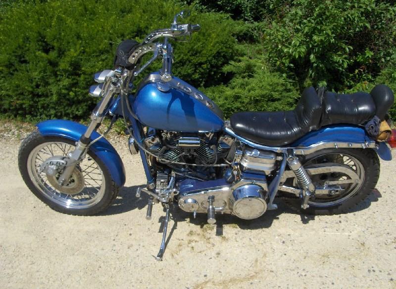 Harley Davidson Super Glide Electric Start Fxe