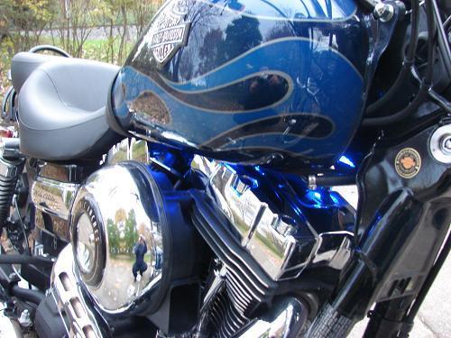 2012 Harley Davidson 174 Fxdwg Dyna 174 Wide Glide 174 Big Blue