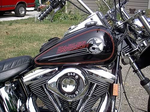 Harley Davidson Bike Covers >> 1994 Harley-Davidson® FXSTC Softail® Custom (black ...