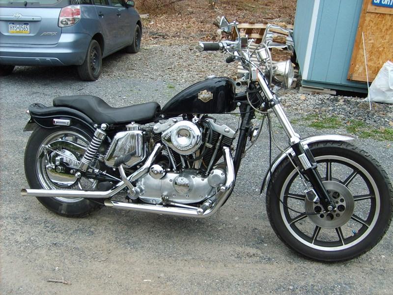 Photo of a 1971 Harley-Davidson® XLH Sportster Super H