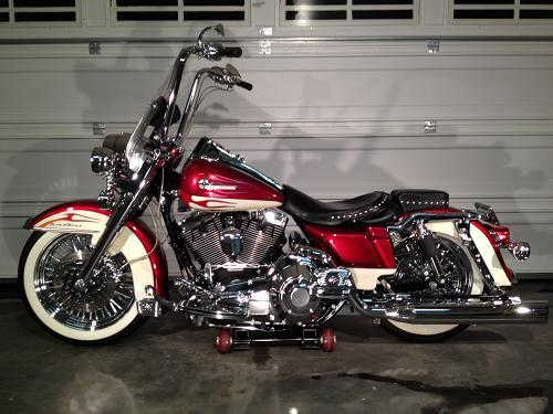 2001 Harley Davidson Flhrc Road King Classic Candy Apple Red