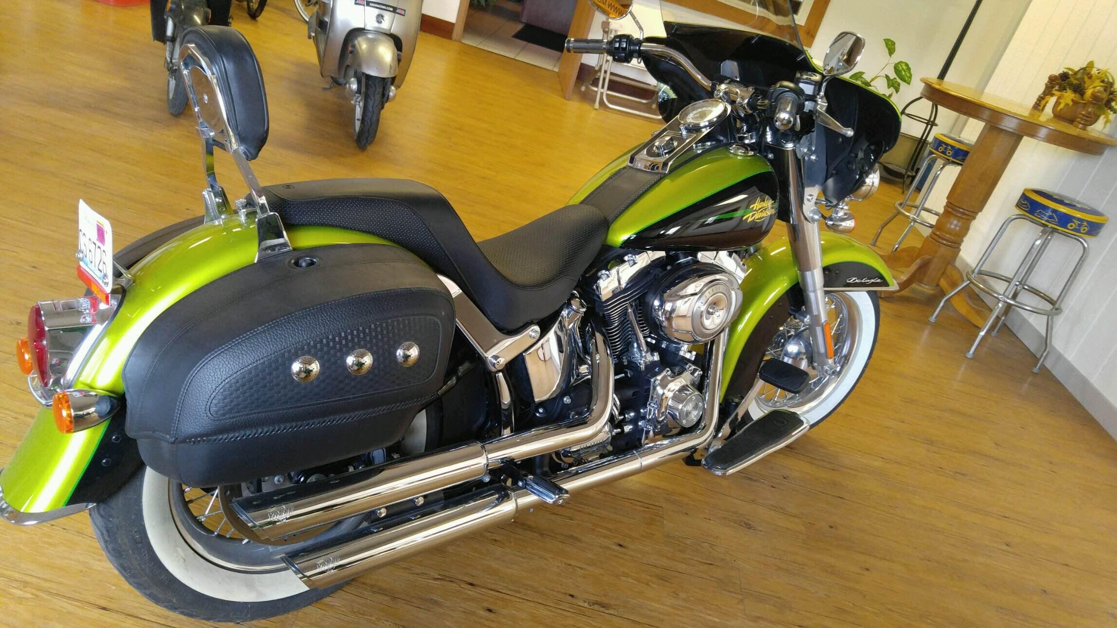 Apple Green Harley Davidson Fairing For Sale