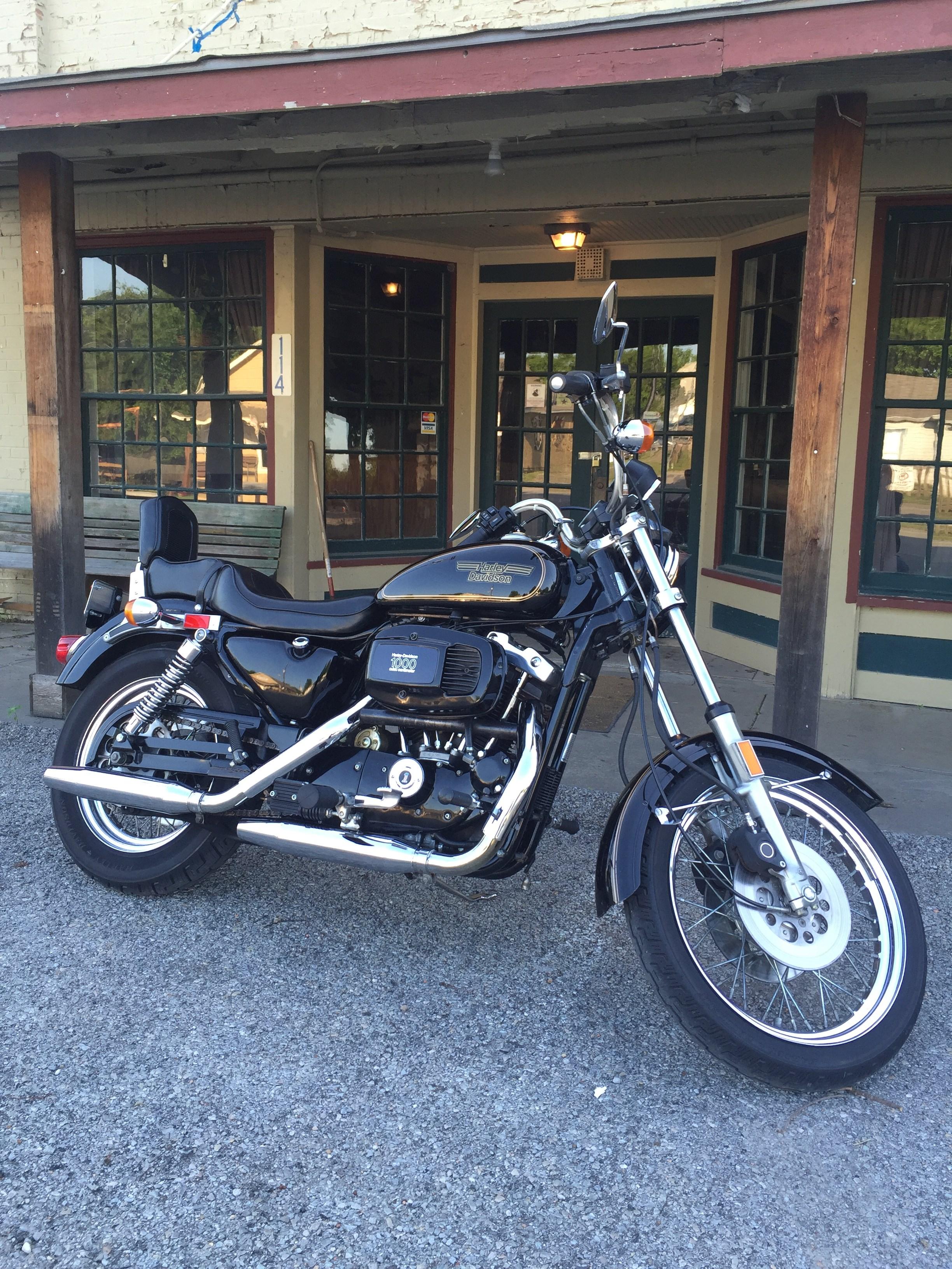 1982 Harley-Davidson® XLS Sportster® Roadster® (Black/Gold ...