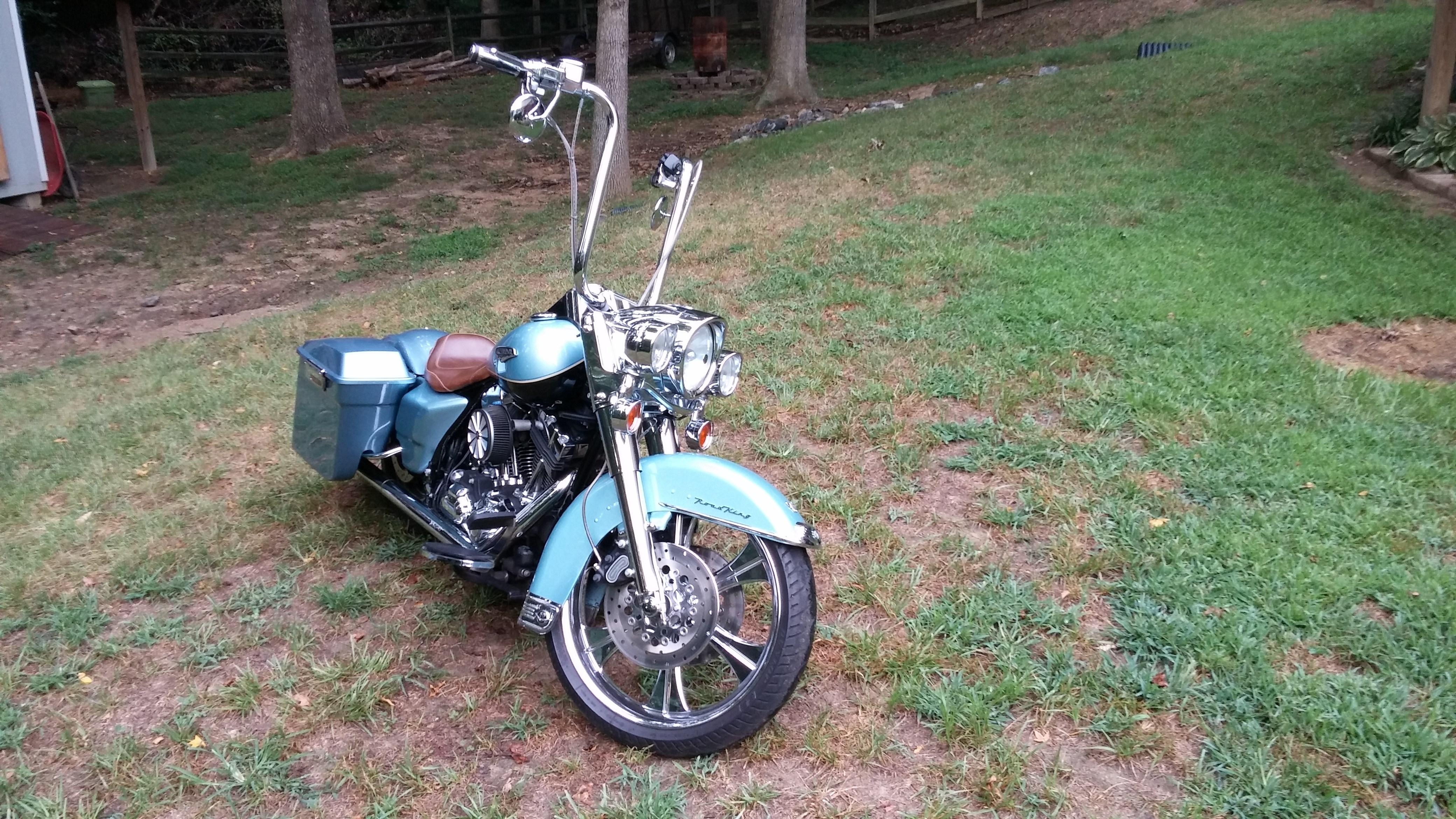 Harley Davidson Road King For Sale Mustang Ok >> 2007 Harley-Davidson® FLHRC Road King® Classic (Light Blue/Black), Kernersville, North Carolina ...
