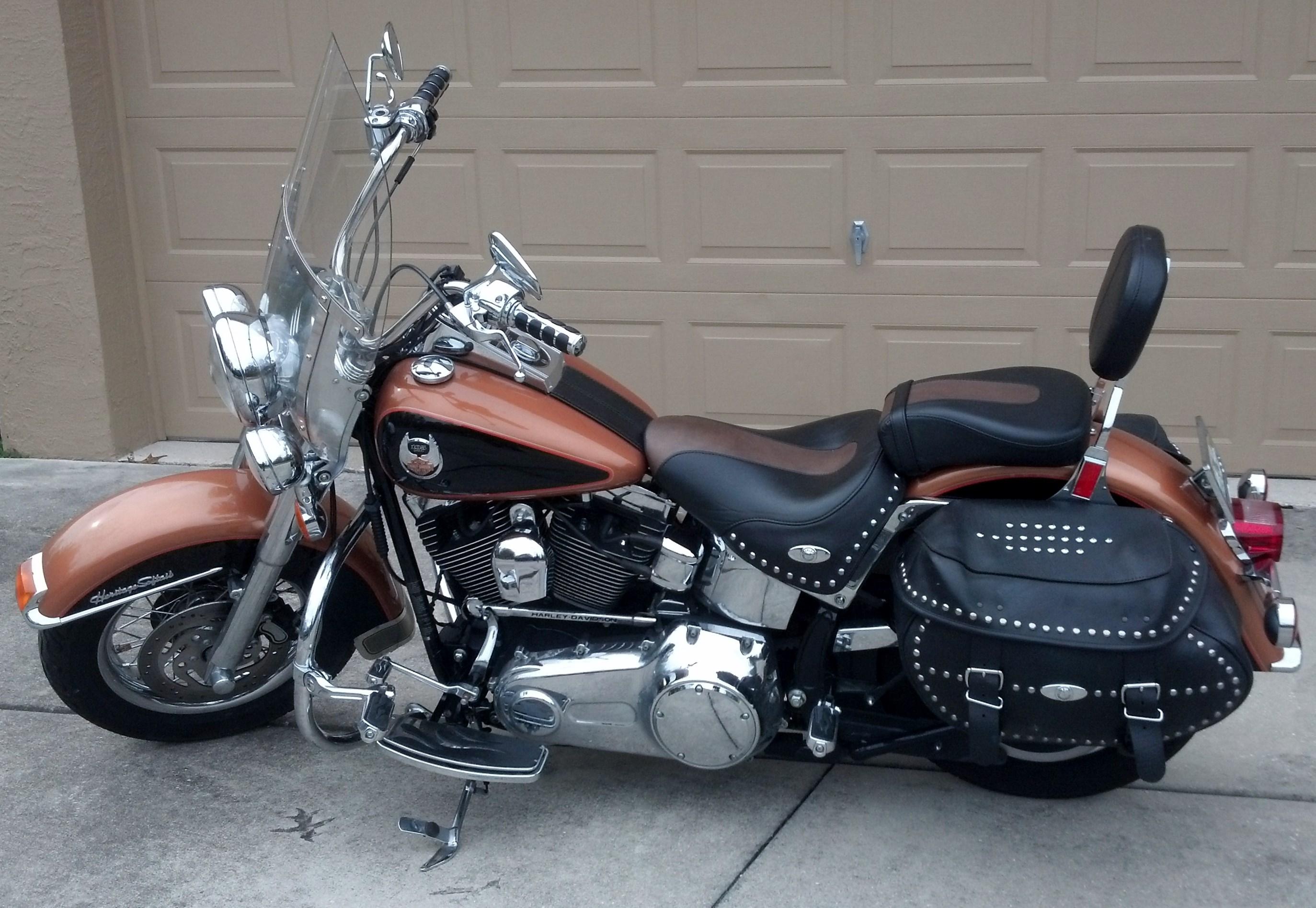 Harley Softail For Sale Encinitas Ca >> 2008 Harley-Davidson® FLSTC-ANV Heritage Softail® Classic Anniversary (Anniversary Copper/Vivid ...