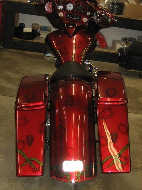 Harley Davidson Bike Covers >> 2009 Harley-Davidson® Custom (candy brandywine), Mayville ...
