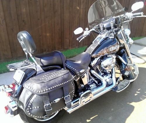 Harley Davidson Heritage Softail Shift Pattern