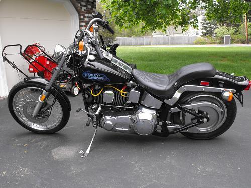 Photo Of A 1989 Harley DavidsonR FXSTC SoftailR Custom