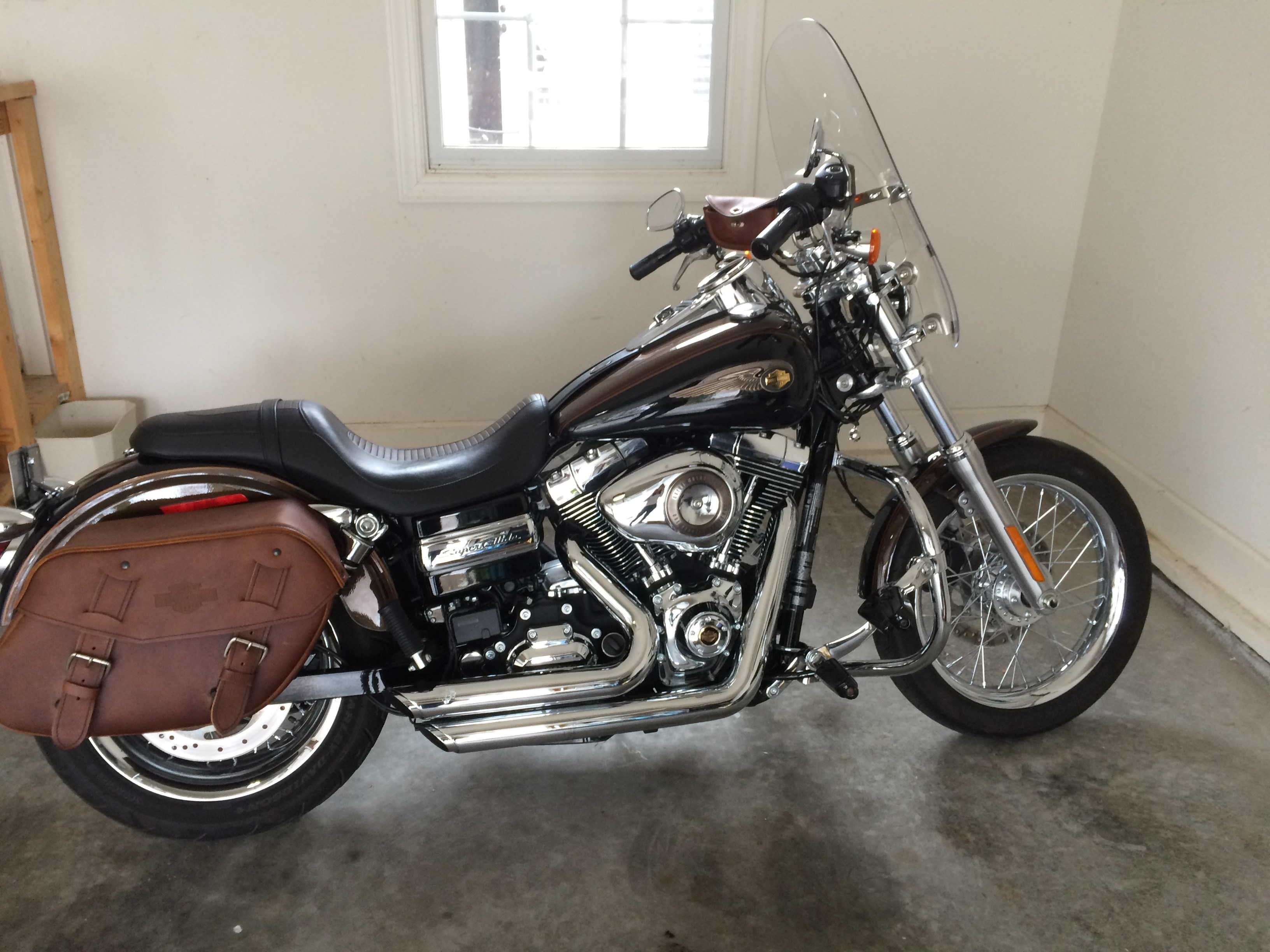 Harley Davidson Super Glide Th Anniversary