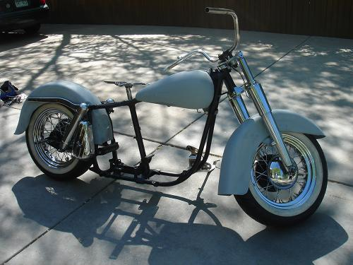 1965-1969 HARLEY-DAVIDSON PANHEAD/SHOVELHEAD USED ROLLING CHASSIS ...