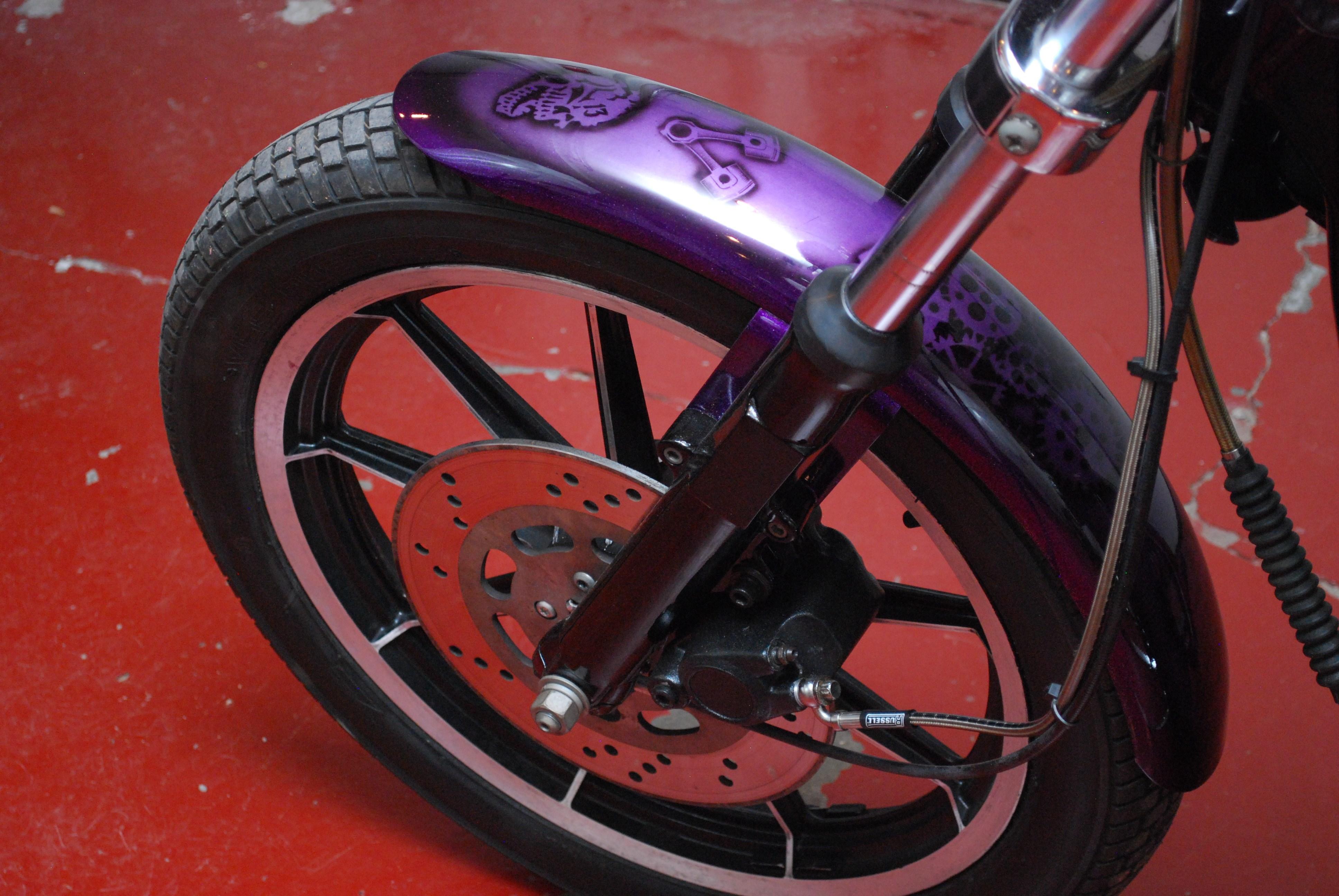1986 Harley Davidson Xlh 1100 Sportster Purple Metal Flake Custom Paint Dudley Massachusetts 551481 Chopperexchange