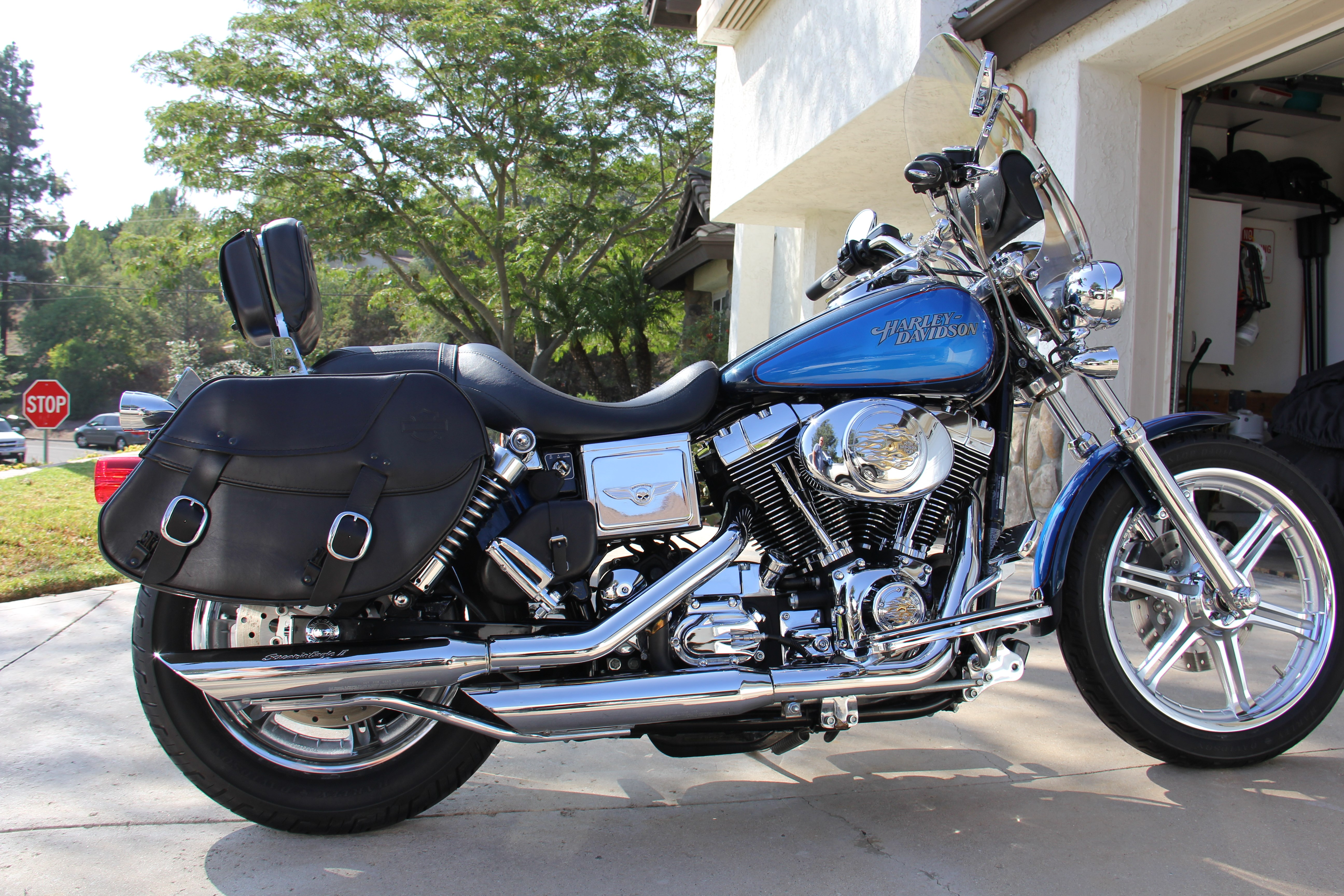 Harley Davidson Dyna Low Rider For Sale San Diego >> 2004 Harley-Davidson® FXDL/I Dyna Low Rider® (Factory-Two-tone Luxury Blue and Impact Blue (Red ...