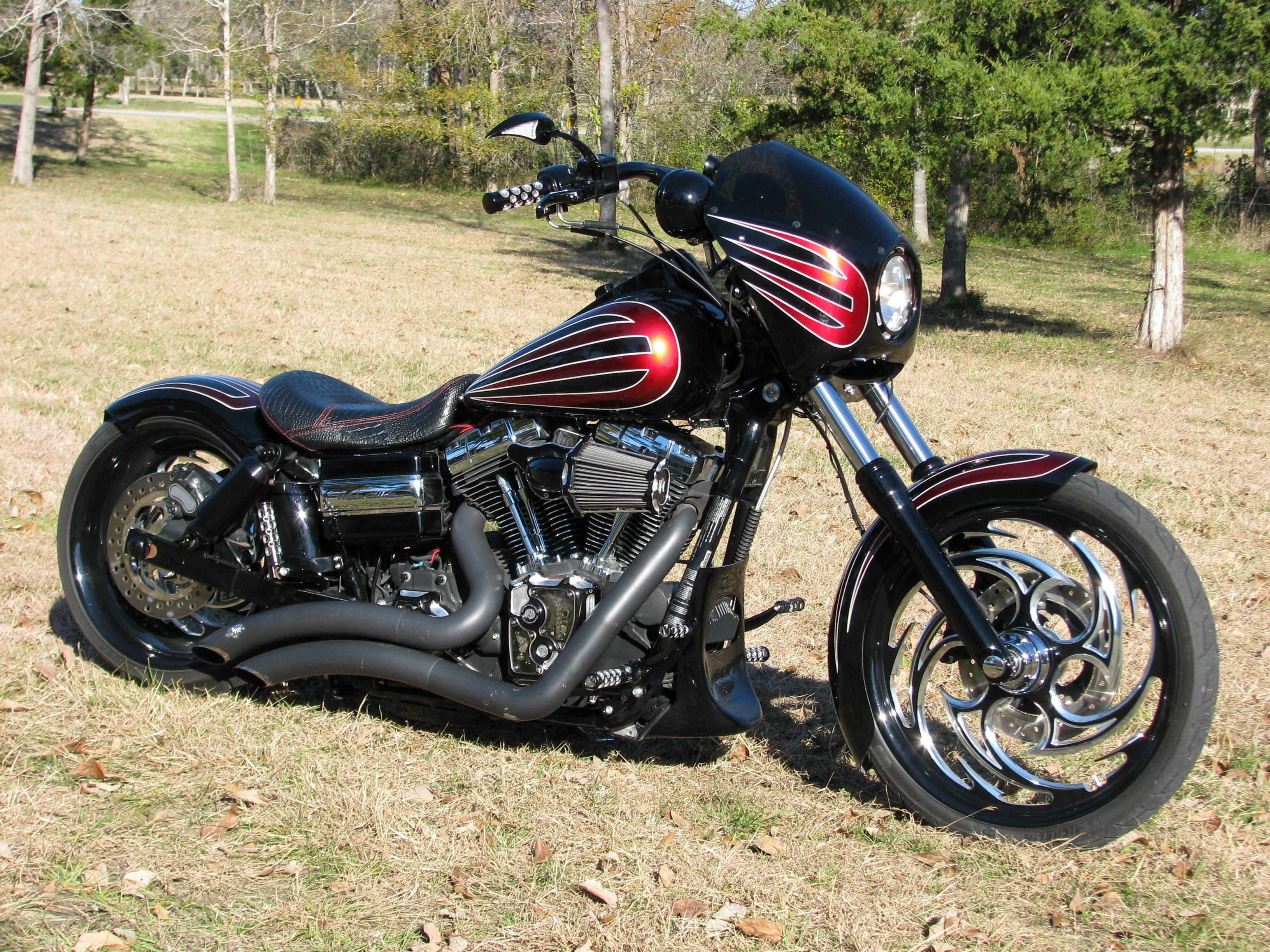 2013 Harley Davidson Fxdwg Dyna Wide Glide Black