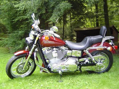 2000 Harley Davidson 174 Fxd Dyna 174 Super Glide Dark Red