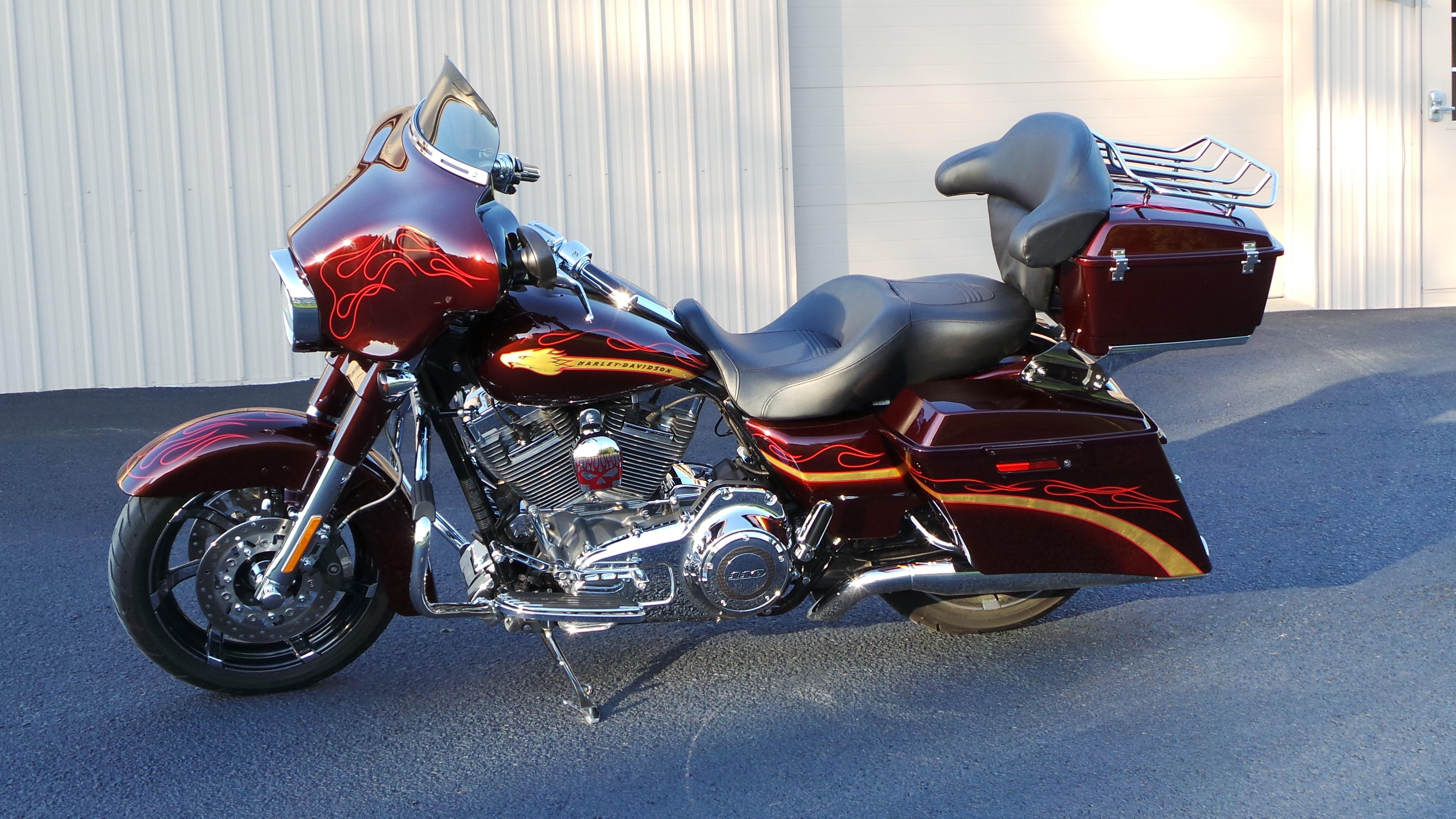 2010 Harley Davidson Flhxse Cvo Street Glide Spiced Rum Palo 2015 Tour Pack Iowa 488359 Chopperexchange