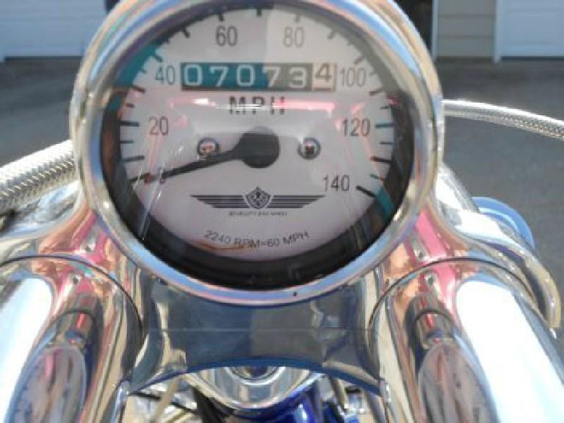 Used Ace For Sale Ohio >> 2003 Bourget Bike Works Black Jack Ace (Cobalt Blue), Kent, Ohio (368967) | ChopperExchange