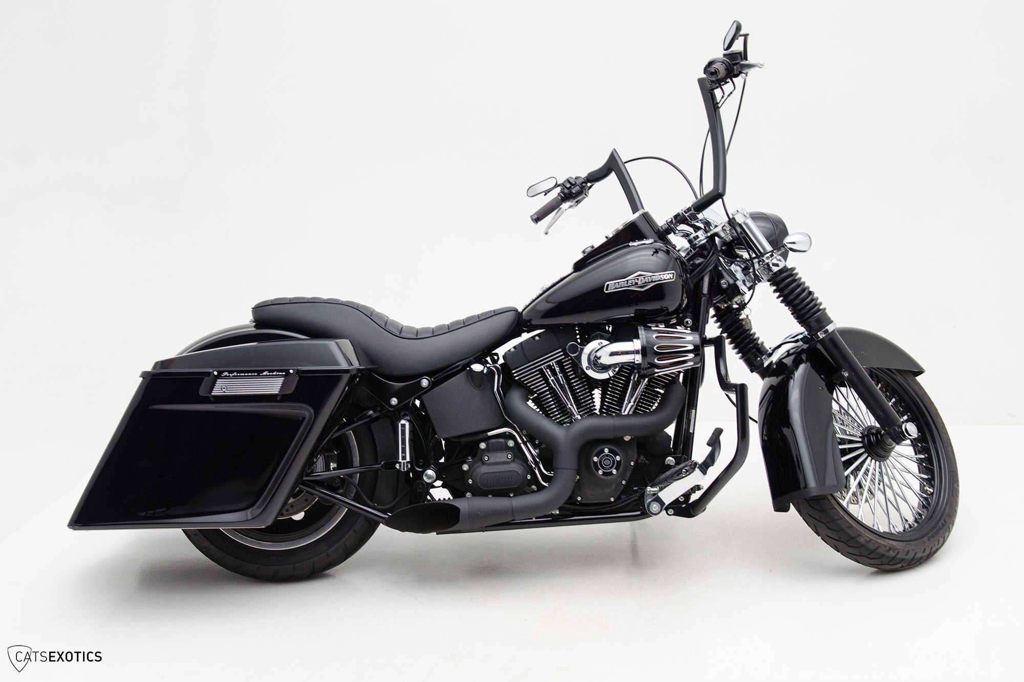 Harley Davidson Dealer Washington >> 2009 Harley-Davidson® FXSTB Softail® Night Train® (Black), Lynnwood, Washington (651495 ...