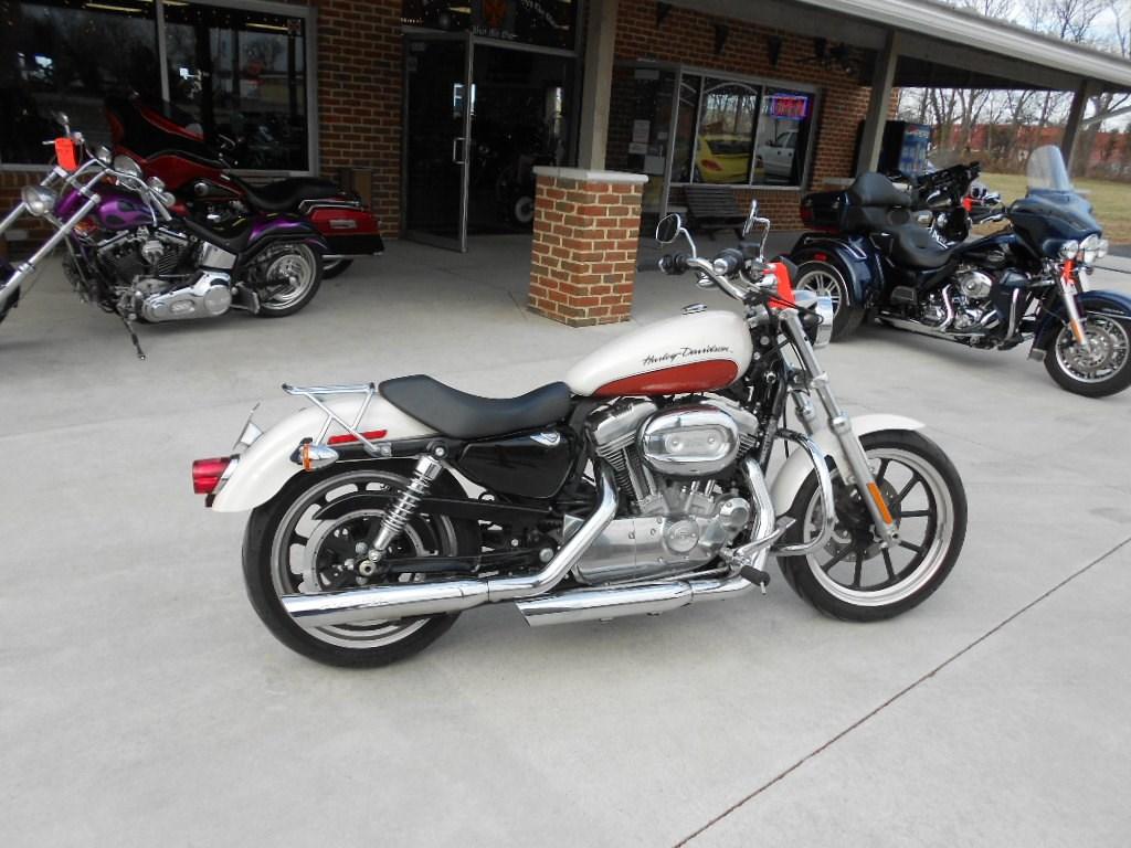 2011 Harley-Davidson® XL883L Sportster® 883 SuperLow™ – $6500