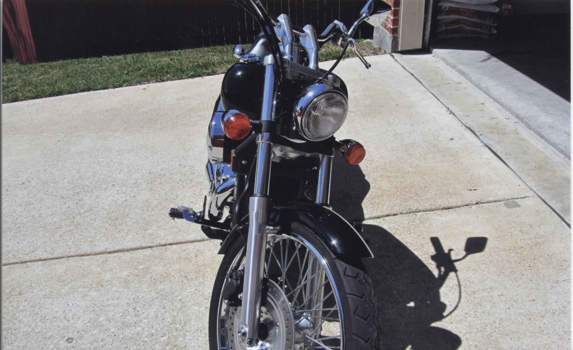 honda vtc shadow  spirit black rockwall texas  cyclecrunch