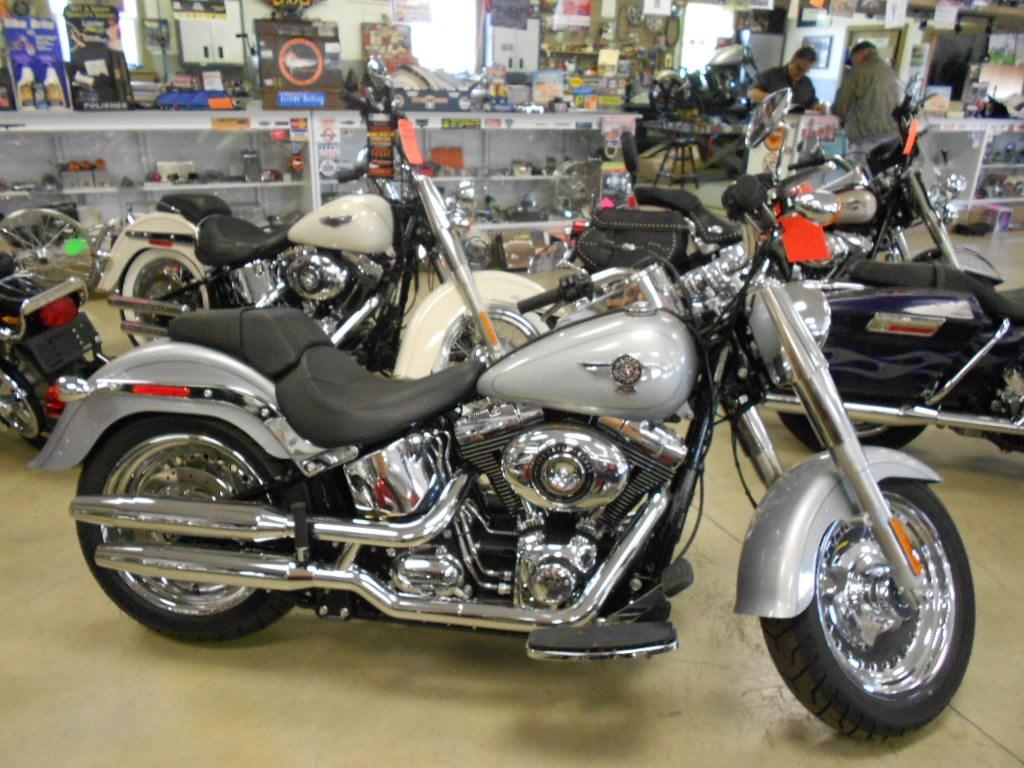 2015 Harley-Davidson® FLSTF Softail® Fat Boy® – $16500