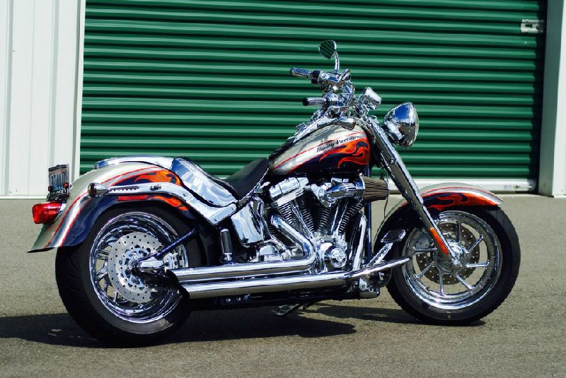 Harley Davidson Dealer Washington >> 2006 Harley-Davidson® FLSTFSE2 Screamin' Eagle® Softail® Fat Boy® (Autumn Haze and Abyss Blue ...