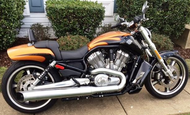 2014 Harley-Davidson® VRSCF V-Rod® Muscle (Amber Whiskey ...