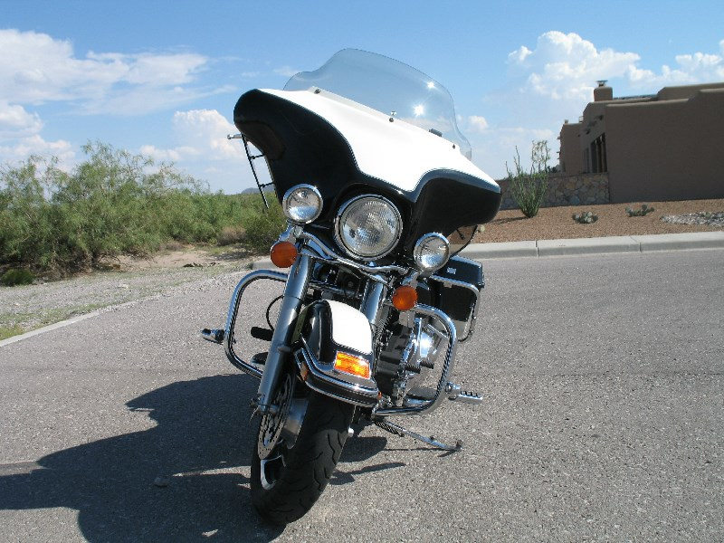 2009 harley davidson flhtp electra glide police black white las cruces new mexico 389378. Black Bedroom Furniture Sets. Home Design Ideas