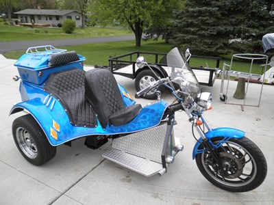 Used 2008 Special Construction Custom Trike