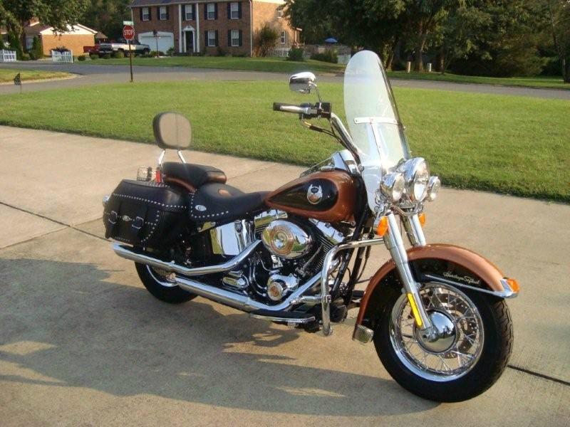 Softail Motorcycles For Sale Encinitas Ca >> 2008 Harley-Davidson® FLSTC-ANV Heritage Softail® Classic Anniversary (Pearl Orange and Black ...