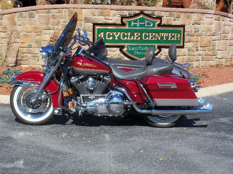 1997 Harley Davidson Flhr Road King Red Silver Greencastle Pennsylvania