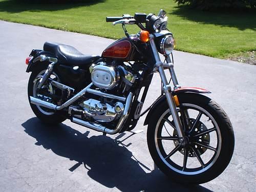 Photo Of A 1990 Harley DavidsonR XLH 1200 SportsterR