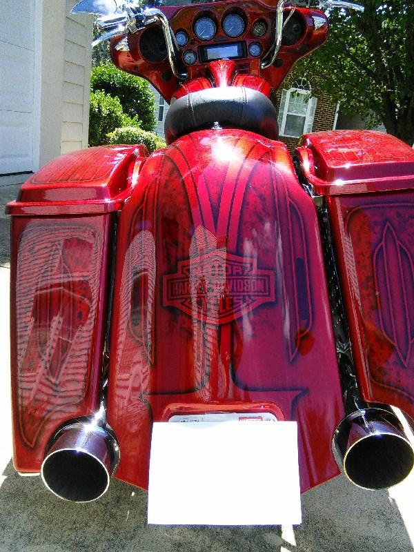 2011 Harley Davidson 174 Flhx Street Glide 174 House Of Kolor