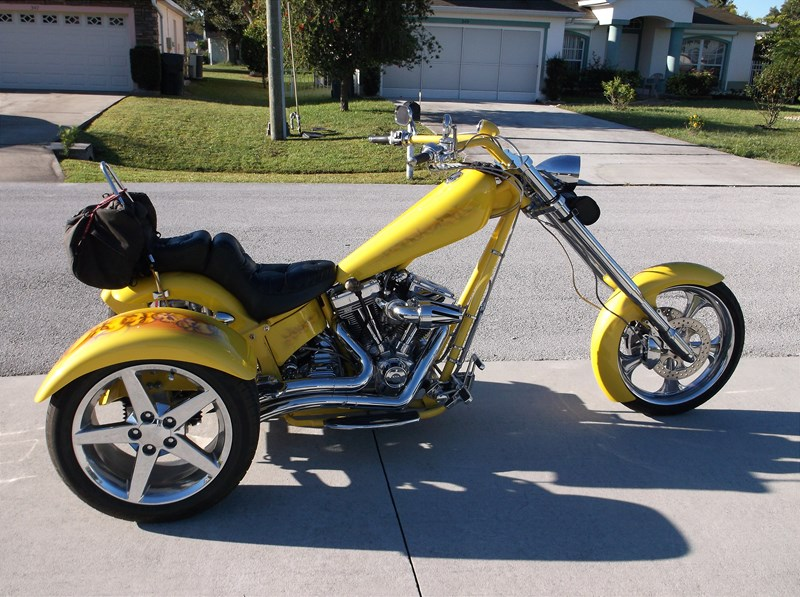 2004 American Ironhorse Texas Chopper Pearl Yellow With