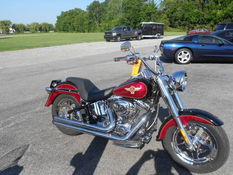 Photo of a 2005 Harley-Davidson® FLSTFIAE Fat Boy® 15th Anniversary Edition