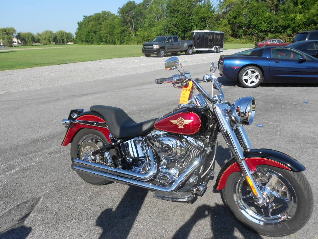 2005 Harley-Davidson® FLSTFIAE Fat Boy® 15th Anniversary Edition – $8900