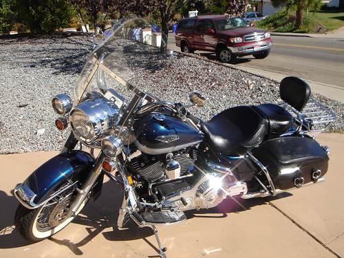 Motorcycle Dealer San Diego Ca >> 2002 Harley-Davidson® FLHRC/I Road King® Classic (Luxury Blue/ Diamond Ice), San Diego ...