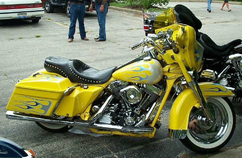 1987 Harley  Flames   Hammond  Indiana  456129