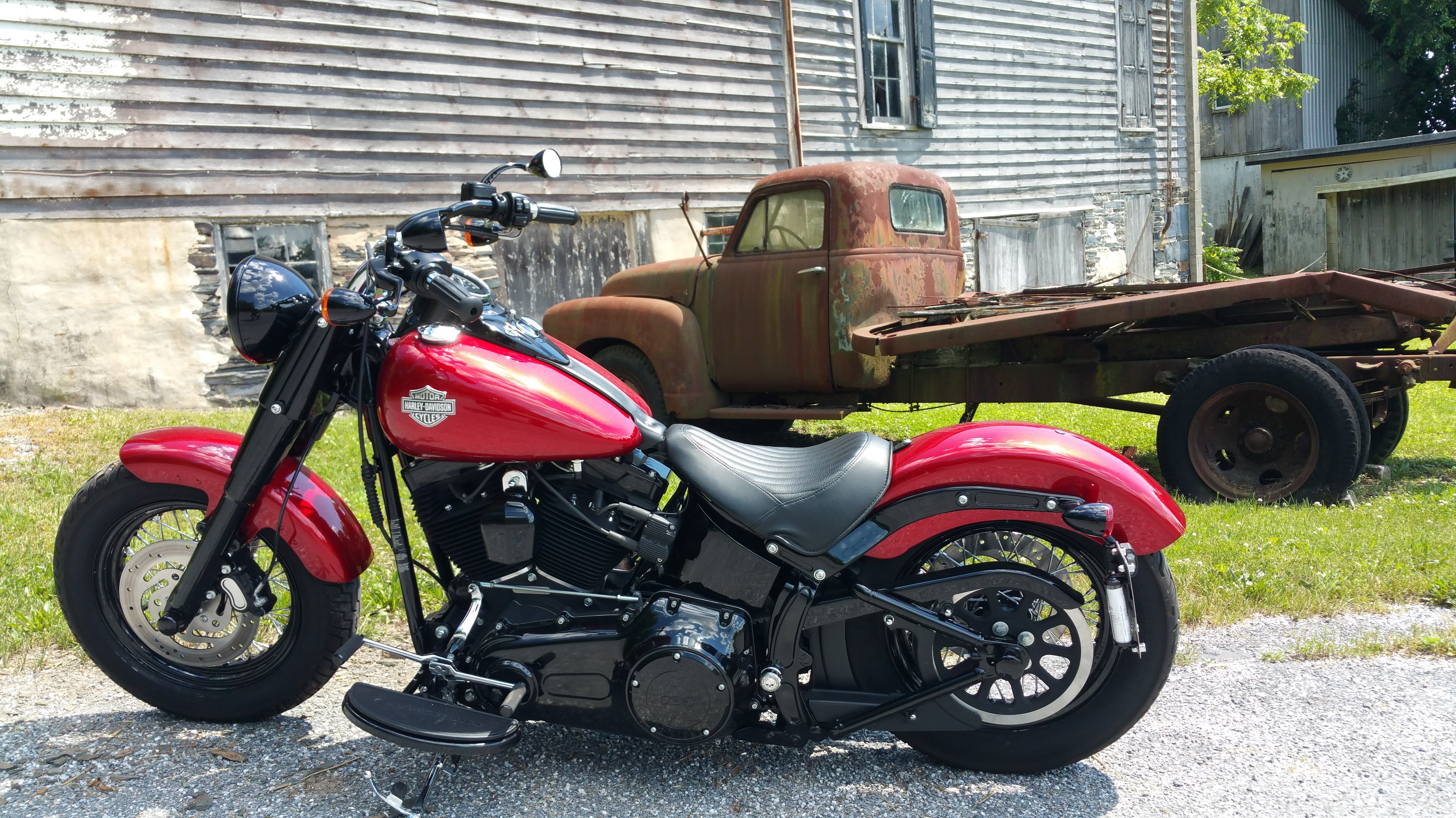 Motorcycle Dealer Near Me >> 2013 Harley-Davidson® FLS Softail® Slim (Ember Red Sunglo), Abingdon, Maryland (507681 ...