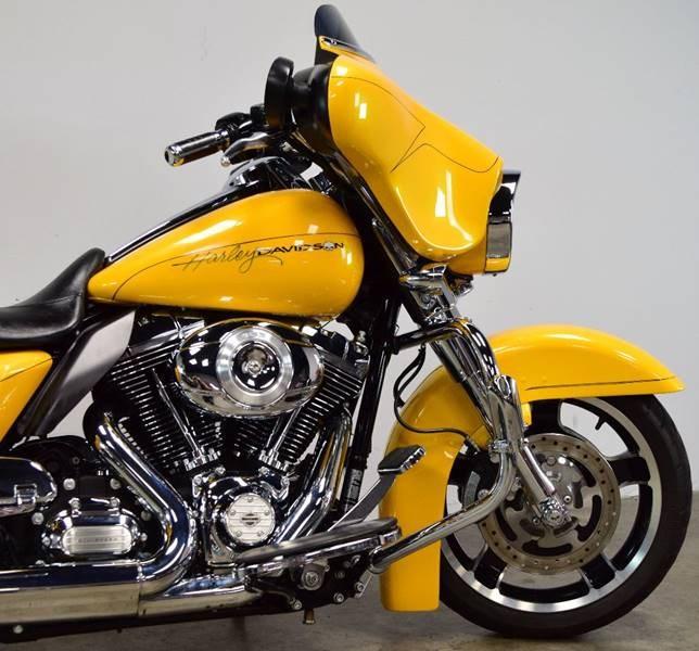 2013 Harley Davidson 174 Flhx Street Glide 174 Yellow Mesa