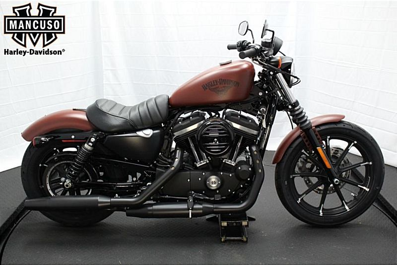 2017 harley davidson xl883n sportster iron 883 red iron denim houston texas 694408. Black Bedroom Furniture Sets. Home Design Ideas