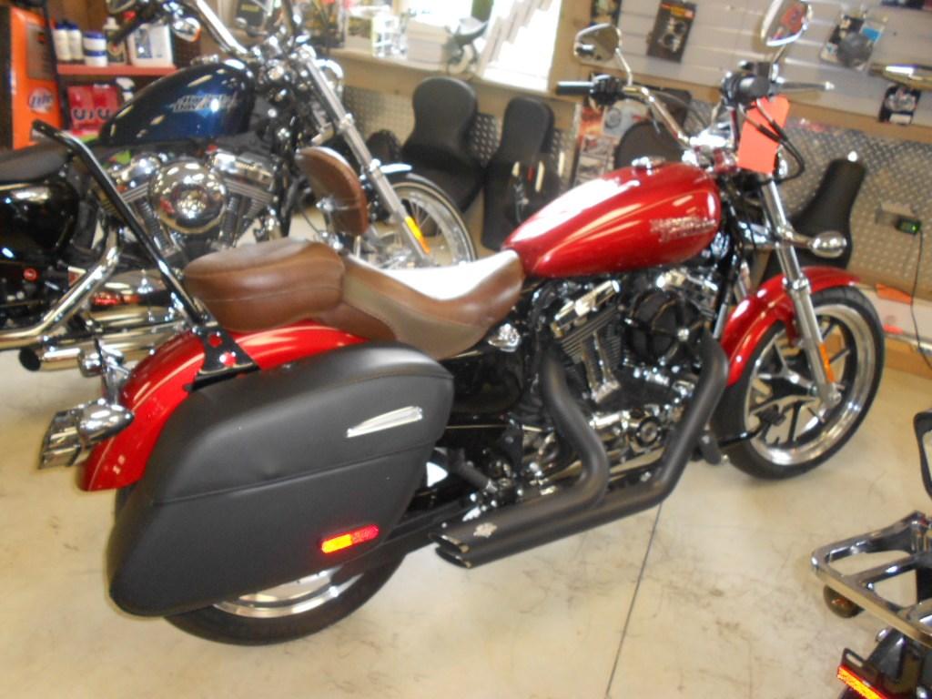 2014 Harley-Davidson® XL1200T Sportster® SuperLow® 1200T – $8400
