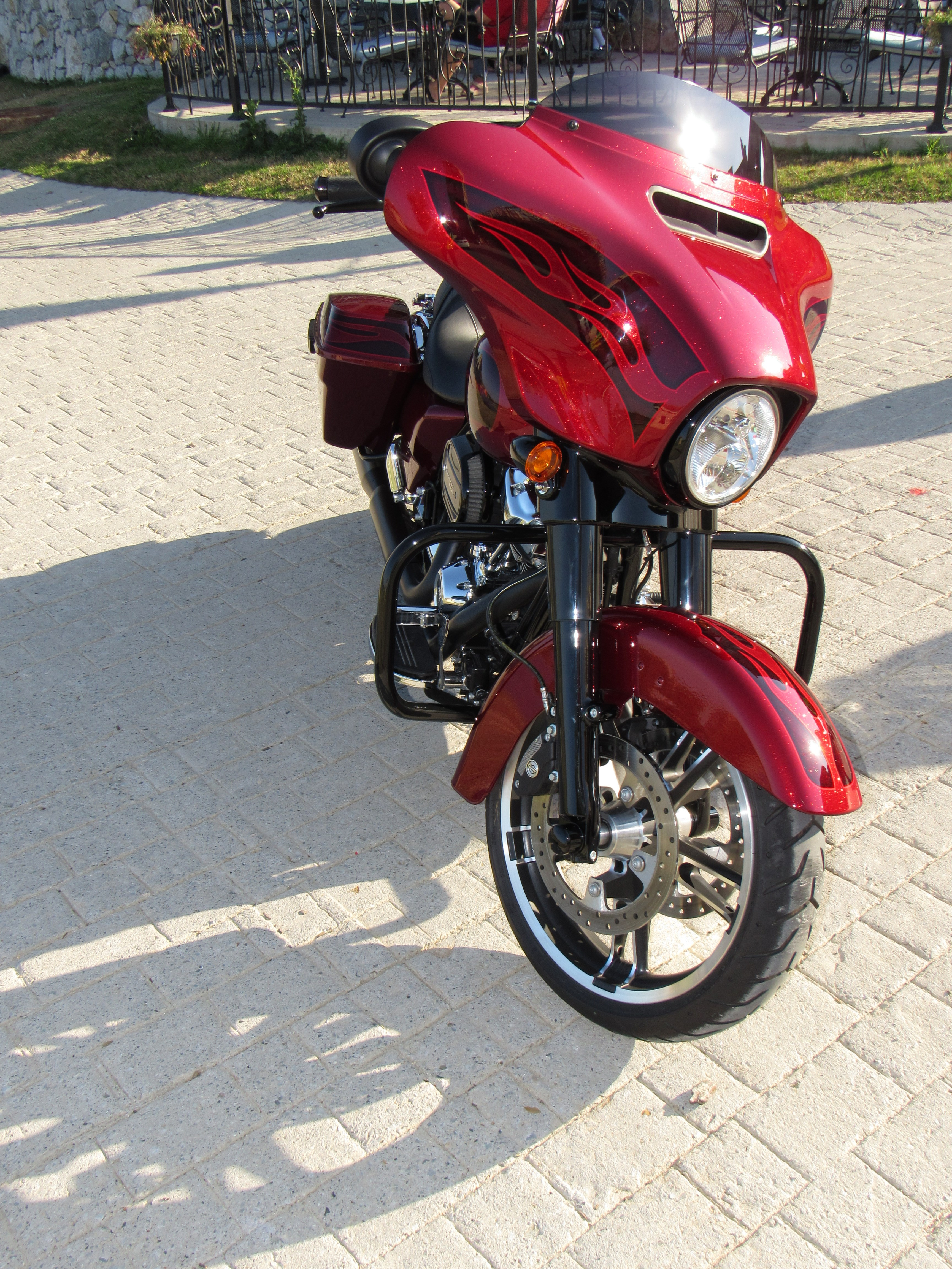 Hot Rod Harley >> 2017 Harley-Davidson® FLHXS Street Glide® Special (Hard Candy Hot Rod Red Flake Custom Paint ...