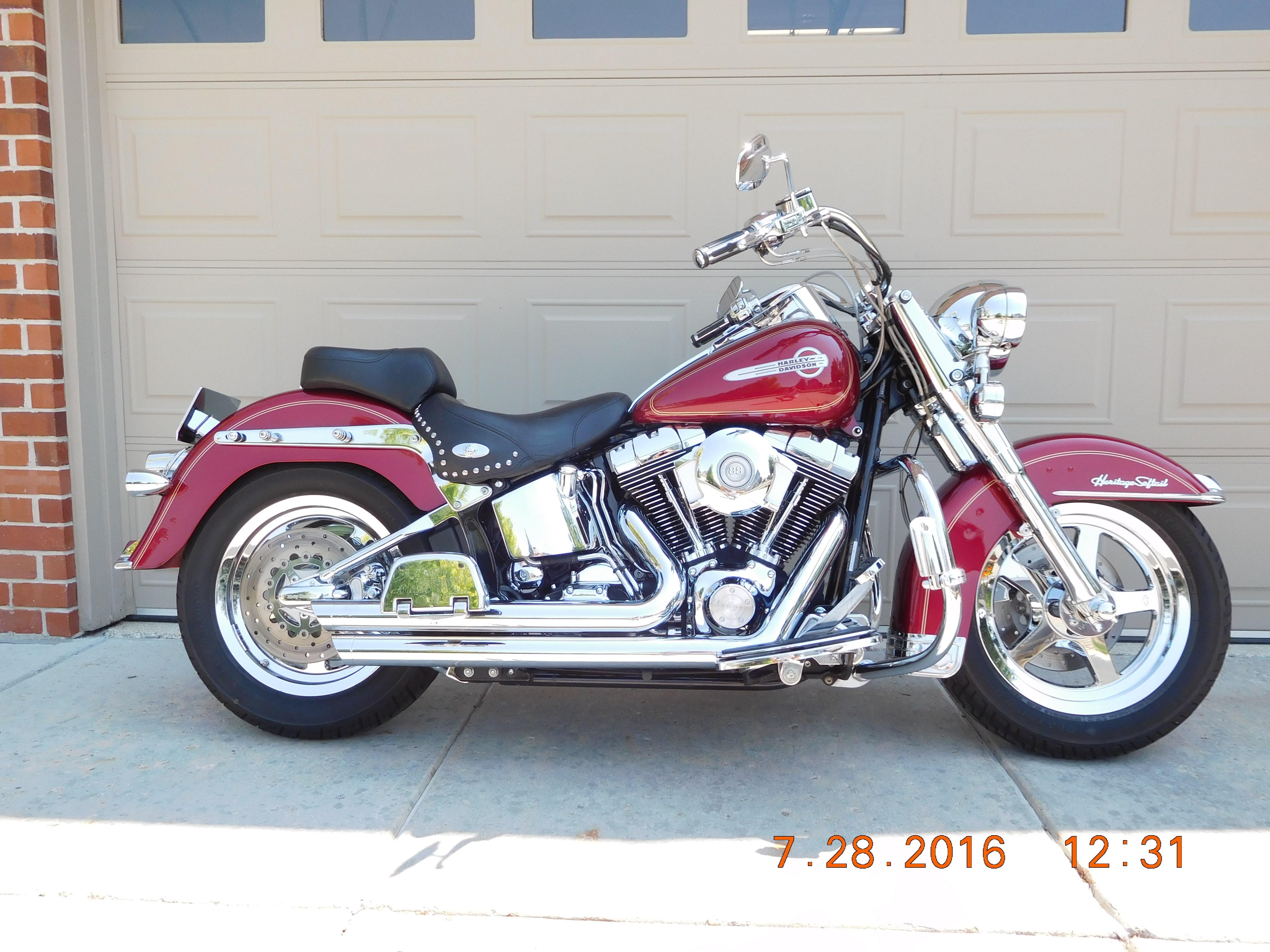 Harley Davidson Chico Ca >> 2004 Harley-Davidson® FLSTC/I Heritage Softail® Classic ...