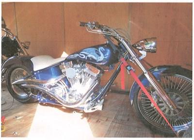 Used 2004 Create A Custom Cycle Pro Street Chopper