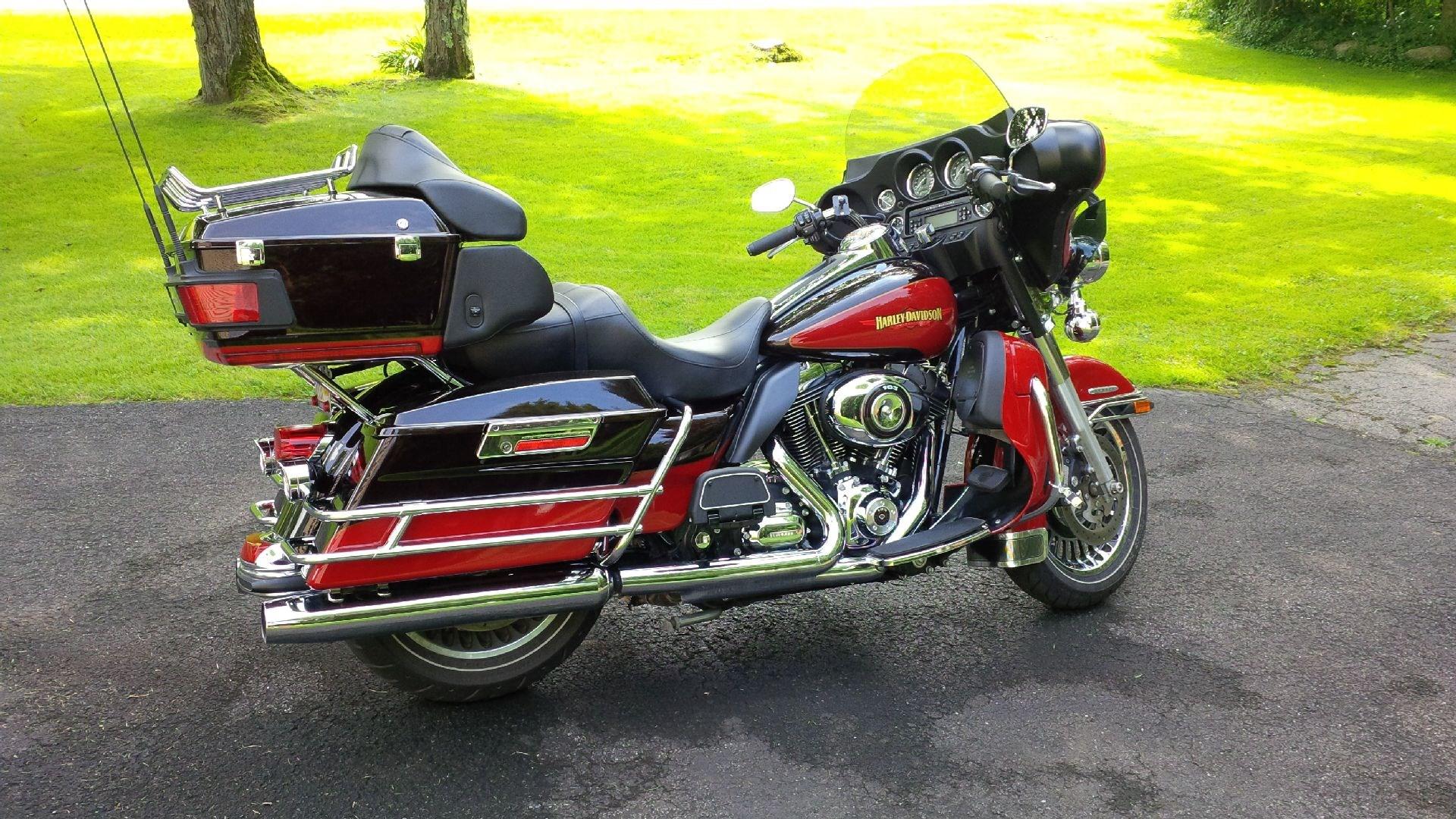 Harley Davidson Electra Glide For Sale Tulsa Ok >> 2010 Harley-Davidson® FLHTK Electra Glide® Ultra Limited (Merlot/Red), Rome, New York (703503 ...