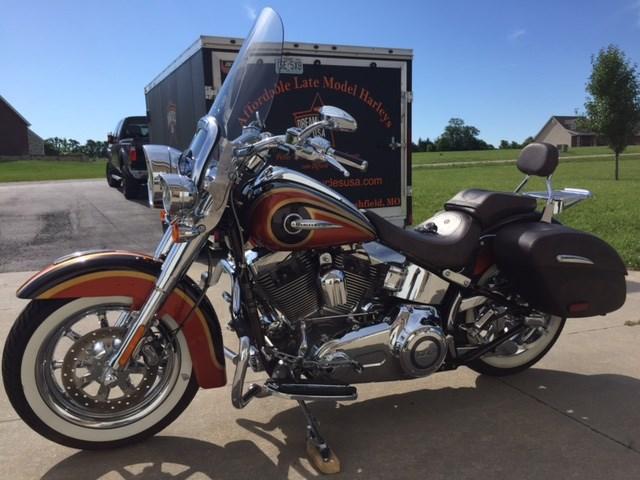 2014 Harley Davidson 174 Flstnse Cvo Softail 174 Deluxe Maple