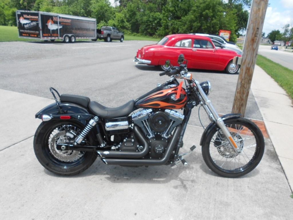 2013 Harley-Davidson® FXDWG Dyna® Wide Glide (Black/Orange ...