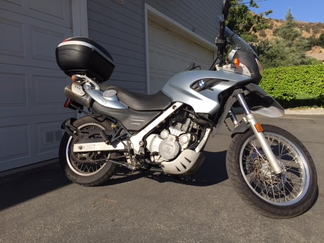 2005 Bmw F650gs Abs Blue Azusa California 906327 Cyclecrunch