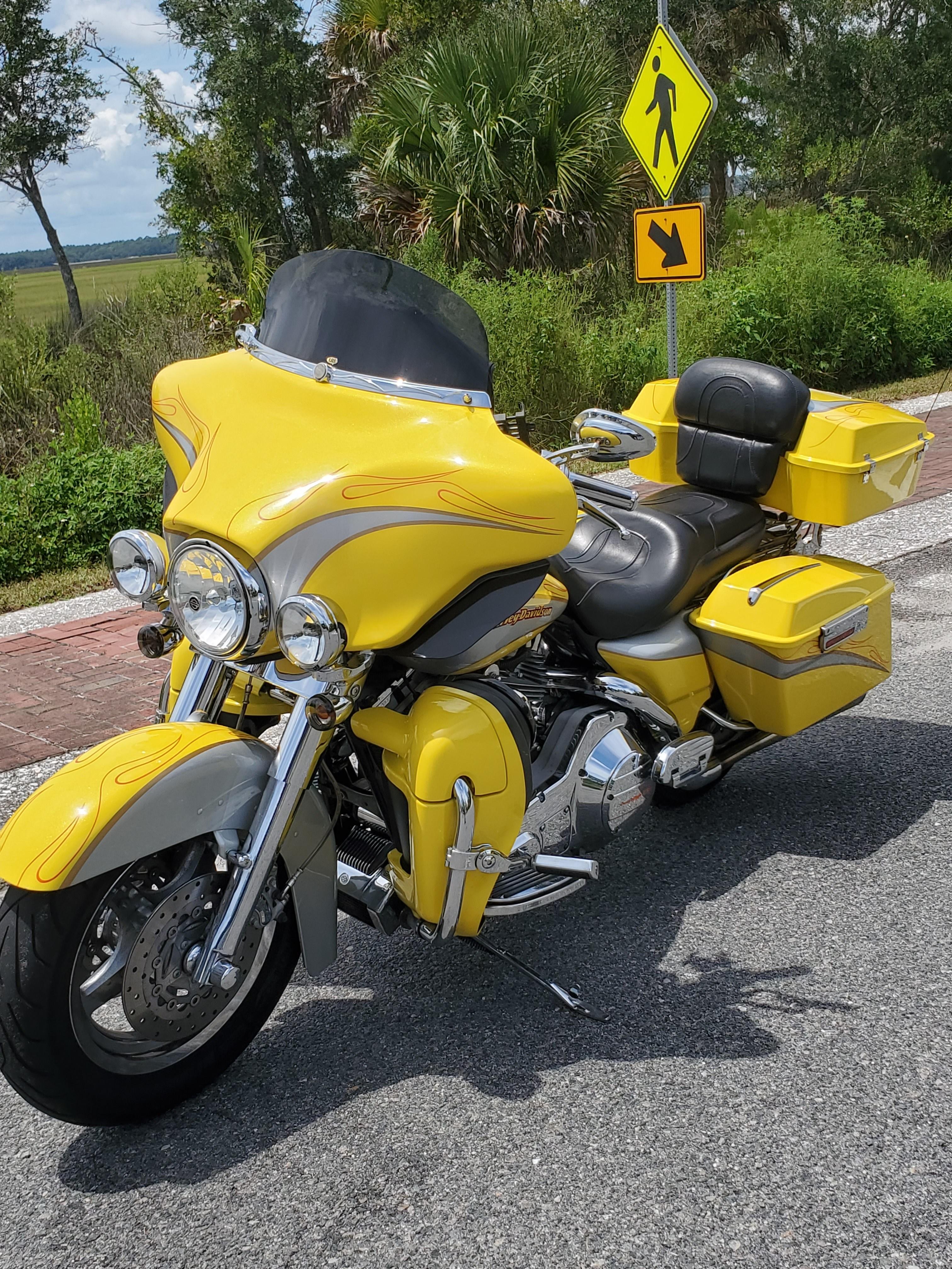 2002 Harley-Davidson® FXSTS Springer® Softail® (Mint Green